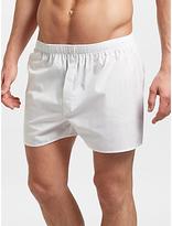 Sunspel Classic Cotton Boxer Shorts, White