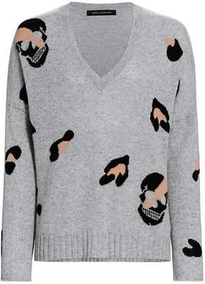 360 Cashmere Heidi Leopard Sweater