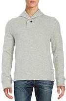 Nautica Colorblocked Quarter Zip Sweater