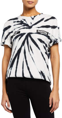 P.E Nation Real Challenger Tie-Dye Tee
