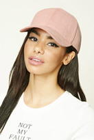 Forever 21 FOREVER 21+ Faux Suede Baseball Cap