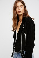 Blank NYC Suede Moto Jacket by at Free People