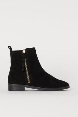 H&M Warm-lined suede boots