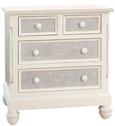The Well Appointed House Evan Four Drawer Chest with Caning