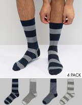 Jack and Jones Socks 4 Pack