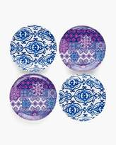 Grecian Tile Small Plate Set