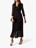 Phase Eight Sparkle Maxi Dress, Black