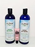 "Alpha Salvatore Caribbean Anti-frizz Post Treatment Magic Shampoo and Conditioner ""Free Starry Sexy Kiss Lip Plumping 10 Ml "" (16 Oz)"