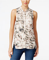 Calvin Klein Jeans Sleeveless Printed Blouse