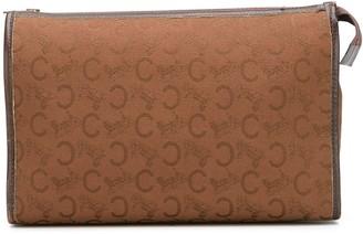 Celine Pre Owned logo print beauty case