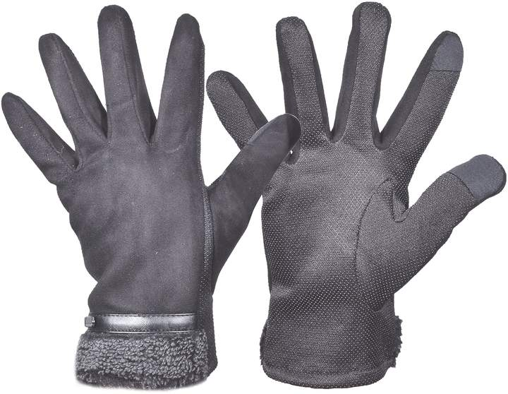 25db3847a Mens Fleece Lined Gloves - ShopStyle Canada
