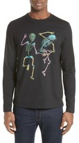 Paul Smith Men's Dancing Skeletons Long Sleeve T-Shirt