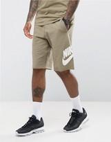 Nike Gx1 Jersey Shorts In Green 836277-230