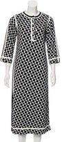 Marc Jacobs Virgin Wool-Blend Geometric Dress