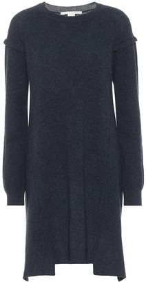 Stella McCartney Wool and alpaca midi dress