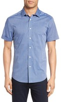 Vince Camuto Men's Short Sleeve Sport Shirt