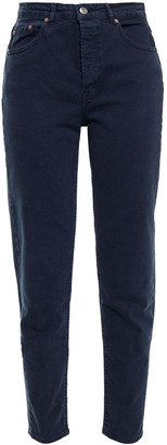 American Vintage Cropped High-rise Slim-leg Jeans