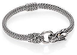 John Hardy Women's Naga 18K Yellow Gold & Sterling Silver Dragon Station Chain Bracelet