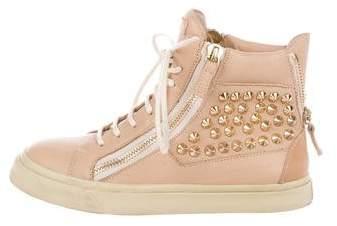 Giuseppe Zanotti Studded London Sneakers