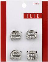 Elle 4-Pack Mini Metal Stone Jaw Clip