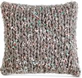 "DKNY Mode Knit 16"" Square Decorative Pillow"