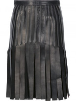 Thierry Mugler strappy a-line skirt