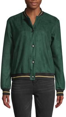 Jak & Rae Jak&Rae Textured Bomber Jacket
