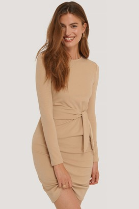 Imane Asry X NA-KD Front Tie Dress
