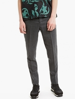 Ami Grey Carrot-fit Trousers
