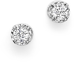 Bloomingdale's Diamond Solitaire Stud Earrings in 14K White Gold, 0.35 ct. t.w. - 100% Exclusive