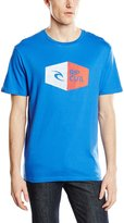 Rip Curl 3D Icon Short Sleeve T-Shirt College