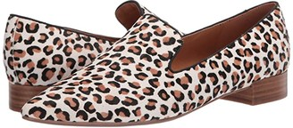 Nine West Jessa Smoking Flat (Ivory) Women's Slip-on Dress Shoes
