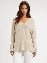 Vince Double V-Neck Sweater