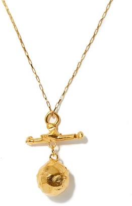 Alighieri The Moonshine 24kt Gold-plated Pendant Necklace - Yellow Gold