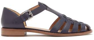 Church's Kelsey Leather Sandals - Womens - Navy