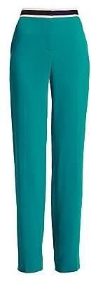 Escada Women's Taminotafi Varsity Stripe Wool Blend Pants