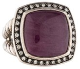 David Yurman Ruby & Diamond Albion Ring