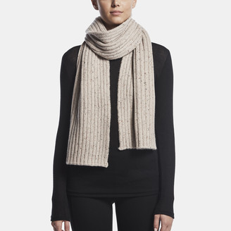 James Perse RIBBED CASHMERE SCARF