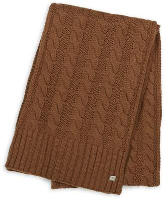 Soia & Kyo Cable-Knit Scarf