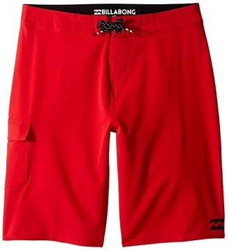 Billabong Kids All Day X Boardshorts (Big Kids) (Red) Boy's Swimwear