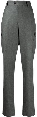 Brunello Cucinelli Straight-Leg Cargo Trousers