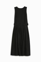 Martin Grant Pleated Wrap Dress