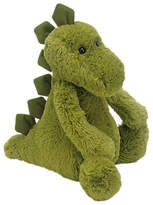Jellycat Bashful Dinosaur Soft Toy, Medium, Green