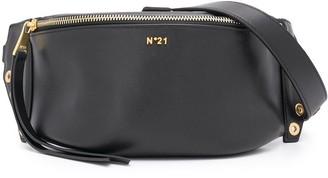 No.21 Chunky Chain-Embellished Belt Bag