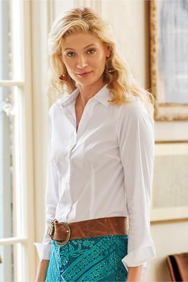 Soft Surroundings Long Sleeve Addilyn Shirt