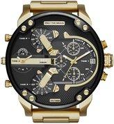Diesel Mr. Daddy 2.0 Multifunction Gold-Tone Stainless Steel Bracelet Watch