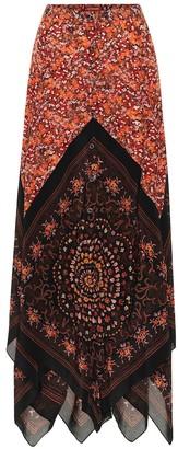 Altuzarra Hance floral silk maxi skirt