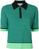 Diane von Furstenberg zip collar jumper - women - Polyester/Viscose - S
