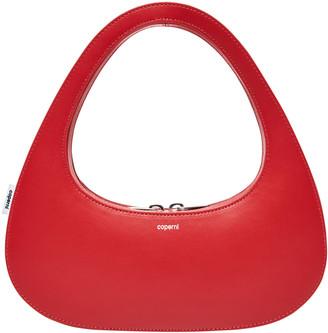 Coperni Swipe Leather Top Handle Bag