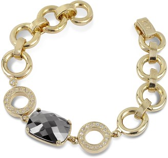A-Z Collection Gold Plated Chain Bracelet